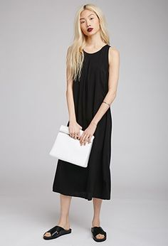 Longline Shift Dress