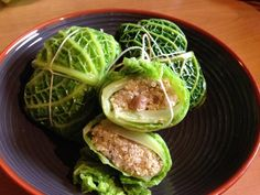 Fagottini di verza con cuore di Quinoa ai funghi – Senza glutine!