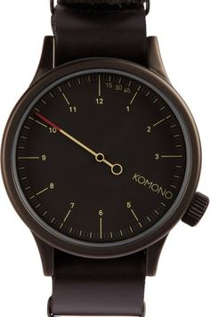Never be late for check in again, with this modern and stylish offering from Komono Watches