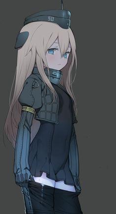 sqidimus:  【U-511】 Credits to BattleKoala on Pixiv