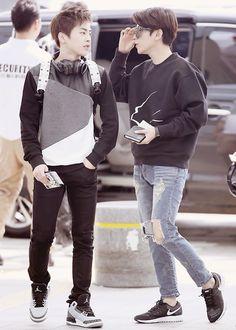 xiumin and baekhyun #exo