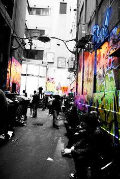 melbourne alleys Melbourne Trip, Melbourne Victoria, Alleyway, Romantic Evening, Bucket List Destinations, Cool Countries, Future Travel, Paths, Urban