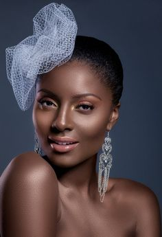 Nigerian bridal make-up by Kemi Kings