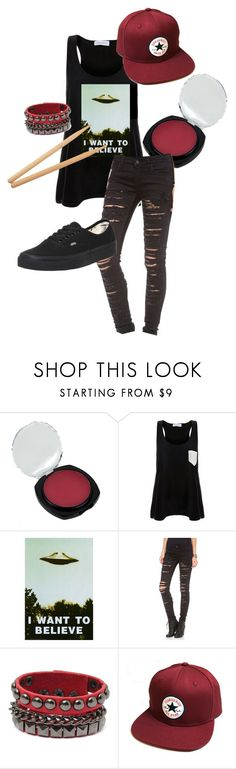 """Josh Dun inspired"" by bandumb ❤ liked on Polyvore featuring Solid & Striped, Blank Denim, Converse, Steinbach, Vans, twentyonepilots, joshdun and blurryface"