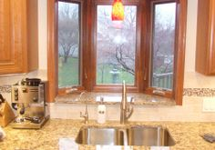 bay window over kitchen sink in small kitchen - Bing Images ...
