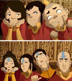 Tenzins Kids All Grown Up Avatar Legend Of Aang Korra Team
