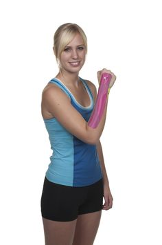 KT Tape Wrist application