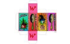 Weasley's Wizard Weezes packaging: Transforming Hairbrush!