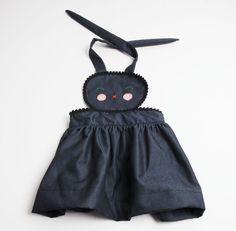 bunny pinafore kit.