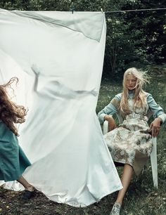 bienenkiste:  Camilla Christensen by Boe Marion for Elle Sweden October 2015