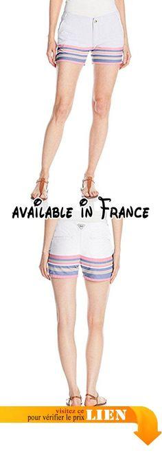 B0101DZEWE : Columbia Women's Solar Fade Shorts Tropic Pink Stripe 8x4.