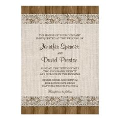 >>>Best          	Burlap And Lace Wedding Invitation           	Burlap And Lace Wedding Invitation Yes I can say you are on right site we just collected best shopping store that haveReview          	Burlap And Lace Wedding Invitation Here a great deal...Cleck Hot Deals >>> http://www.zazzle.com/burlap_and_lace_wedding_invitation-161023828997866265?rf=238627982471231924&zbar=1&tc=terrest