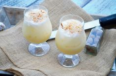 Painkiller Cocktail- rum, coconut, pineapple and orange to take your pain away! | Go Go Go Gourmet @gogogogourmet