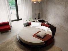 O encanto das camas redondas - Decoração e Ideias