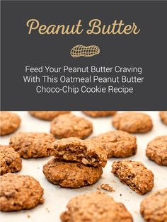 Peanut butter, oatmeal, and chocolate all in the same recipe. It seems too good to be true - but it's not! Click the pin for the Oatmeal Peanut Butter Choc-Chip recipe and satisfy your sweet tooth immediately. Baking Hacks, Baking Tips, Baking Recipes, Choco Chip Cookies, Choco Chips, Cookie Desserts, Cookie Recipes, Chocochip Cookies Recipe, Veggie Diet