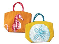 Whimsical Beach Bags
