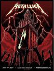 Metallica Miami Poster Mark5 Sign/Numbered Edition Of 70 Glow In The Dark