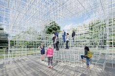 A First Look at the 2013 Serpentine Gallery Pavilion / Sou Fujimoto