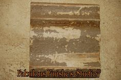 barnworn finish with Caromal Colours textured basecoats - parchment,chip creme, putty, toner