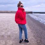 Pocketed Puffer Jacket – Hopikas Color Khaki, Puffer Jackets, Graphic Sweatshirt, Coats, Zipper, Pocket, Sweatshirts, Long Sleeve, Sleeves