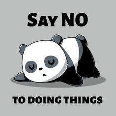 Say No To Doing T...