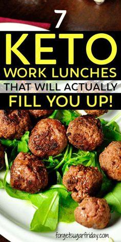 Keto Diet Doctor #KetoDietFoodPlan Keto Diet List, Ketogenic Diet Meal Plan, Best Keto Diet, Diet Plan Menu, Keto Meal Plan, Diet Meal Plans, 7 Keto, Keto Lunch Ideas, Lunch Recipes