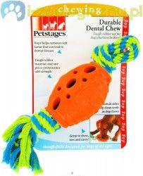 PETSTAGES Durable Dental Chew - gryzak dla psa rugby z liną
