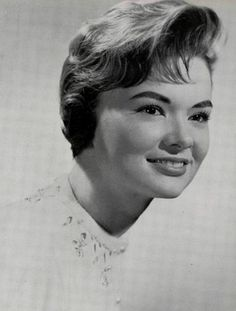 """Barbara Martin - named Senior Beauty in the 1958 """"The Document"""" yearbook at Thomas Jefferson High School in Dallas, Texas.  #ThomasJeffersonHighSchool #Dallas #Texas #yearbook #TheDocument #1958"""