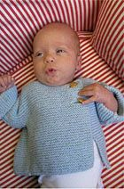 garter stitch baby sweater  this couldn't get any easier!
