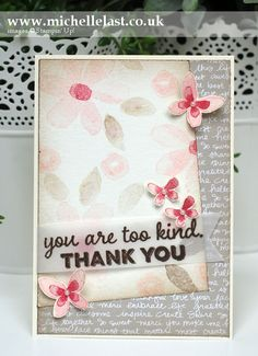 Garden In Bloom Sketch Challenge Card - Stampin' Up! Demonstrator Michelle Last