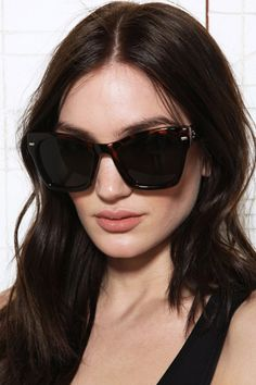 Spitfire Coco Sunglasses in Tortoiseshell at Urban Outfitters