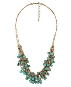 beaded statement necklace how to - Google Search