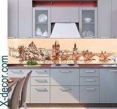 Kitchen Backsplash – City vector