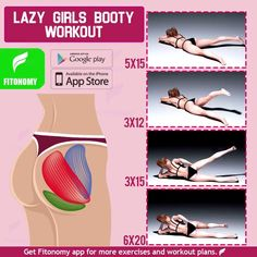 LAZY GIRL BOOTY WORKOUT Feeling lazy on a Sunday workout day? Give it a try to these 4 workouts that don't require much movement to target your butt muscles and complete your lower body workout day. Sunday Workout, Workout Days, Butt Workout, Workout Challenge, Fitness Workouts, Fitness Motivation, At Home Workouts, Fitness Nutrition, Body Fitness
