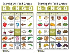 This Health EDventure Bingo game is a fun way to learn the five MyPlate food groups: fruits, grains, dairy, proteins, and vegetables. The bundle includes 24 different bingo cards and a food list that includes all the items listed on the cards.Find over 330 health activities on the Health EDventure store.