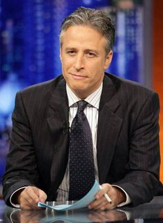 "Jon Stewart - ""When did Manhattan become the standard unit of destruction?!""    I love the Daily Show:)"
