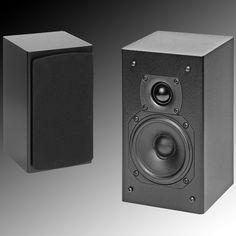 InRoom Mini Sat Satellite Speakers, In Wall Speakers, Music System, Wood Veneer, Real Wood, Apple Tv, Remote, Mini, Audio