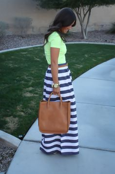 Striped Maxi Skirt, Spring Style, Summer Style, Nautical, J.Crew, Madewell, The Northeast Girl