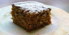 Εξαιρετική συνταγή για Κέικ κολοκύθας με καρύδια. Λαχταριστό εύκολο κέικ με κίτρινη κολοκύθα και καρύδια, πασπαλισμένο με μπόλικη άχνη. Γερμανική συνταγή, θα την αγαπήσετε εύκολα. Λίγα μυστικά ακόμα Προτού το ξεφορμάρουμε το γλυκό, το αφήνουμε 10 λεπτά να ξεκουραστεί. Σερβίρουμε με άχνη.Εγώ την κολοκύθα την έβαλα στο μπλέντερ. Greek Sweets, Greek Desserts, Greek Recipes, Pumkin Recipes, Fall Recipes, Thanksgiving Recipes, Flan, Greek Cake, How To Roast Hazelnuts