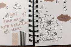 Bullet journal inspiration — lillastudies:   Bits and pieces of this week's...