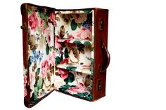 Doris Suitcase Cupboard. Featured in Vogue by whatcomesaroundldn, £190.00