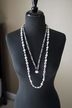 Silver Chic Necklace with It's A Wrap (bracelet used as a Necklace)   billn9638@msn.com