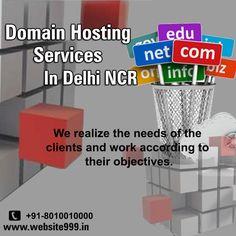 #Domain Registeration & Hosting Services In Delhi NCR - #Website999offers domain registration & #hosting services within affordable #price in just rupees 1999. See more @ http://goo.gl/PKvh6R