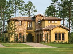 4 Bedroom Mediterranean Home Plan HOMEPW09238