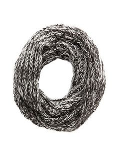 Cable Open Knit Infinity Scarf: Charlotte Russe
