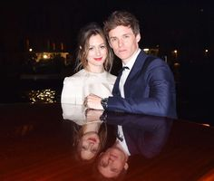 On Saturday, Eddie Redmayne enlists wife Hannah as his date at the OMEGA Aqua Terra Palazzo Pisani M... - Jacopo Raule/Getty