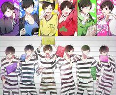 Osomatsu-san The Matsu Manga Art, Manga Anime, Anime Art, Hot Anime Guys, All Anime, Happy Tree Friends, Ichimatsu, Vocaloid, Haikyuu