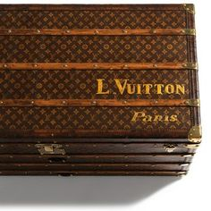 Vintage Louis Vuitton trunk.