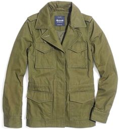 MADEWELL All-Weather Outbound Jacket Army GI Military Field Utility Cargo Coat M #Madewell #BasicJacket
