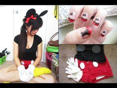 DIY Mickey Mouse Costume Where was this last Halloween.....???!!!!